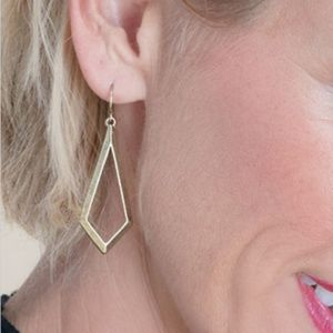 """Premier Designs Jewelry DAILY - GOLD Earrings 2"""""""